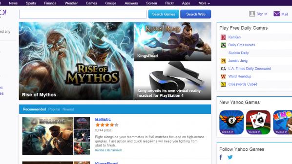 Yahoo games download deals