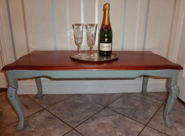 Shabby Chic Country Sisters Shabby Chic Coffee Table Painted with