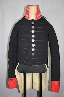 War of 1812, Art conservation of historic military uniforms, custom made mannequin