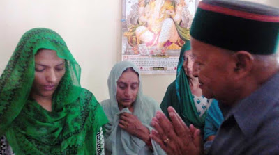 Virbhadra Singh, CM of Himachal Pradesh, Himachal CM Virbhadra Singh, Martyr Rajesh Kumar Chandel