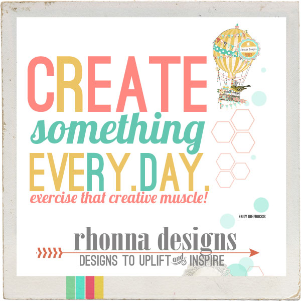 rhonna designs ~ create something every day