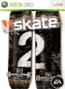 cover xbox360 du jeu skate 2