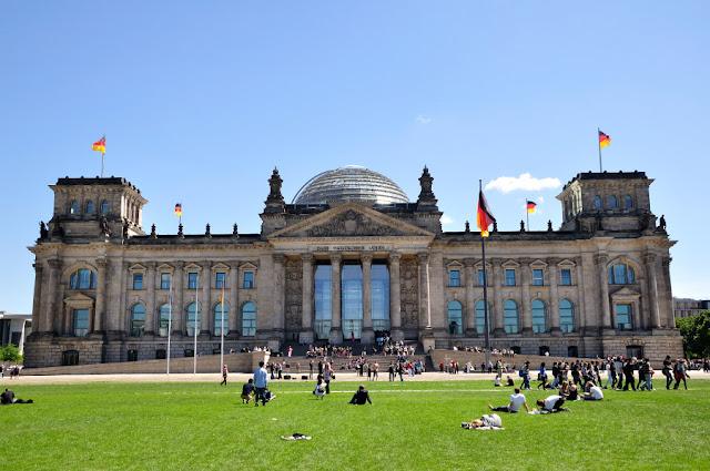 Parlamente Aleman en Berlin