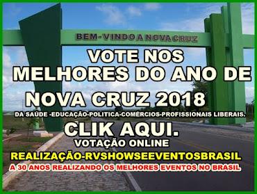 VOTE NOS MELHORES DO ANO DE 2018