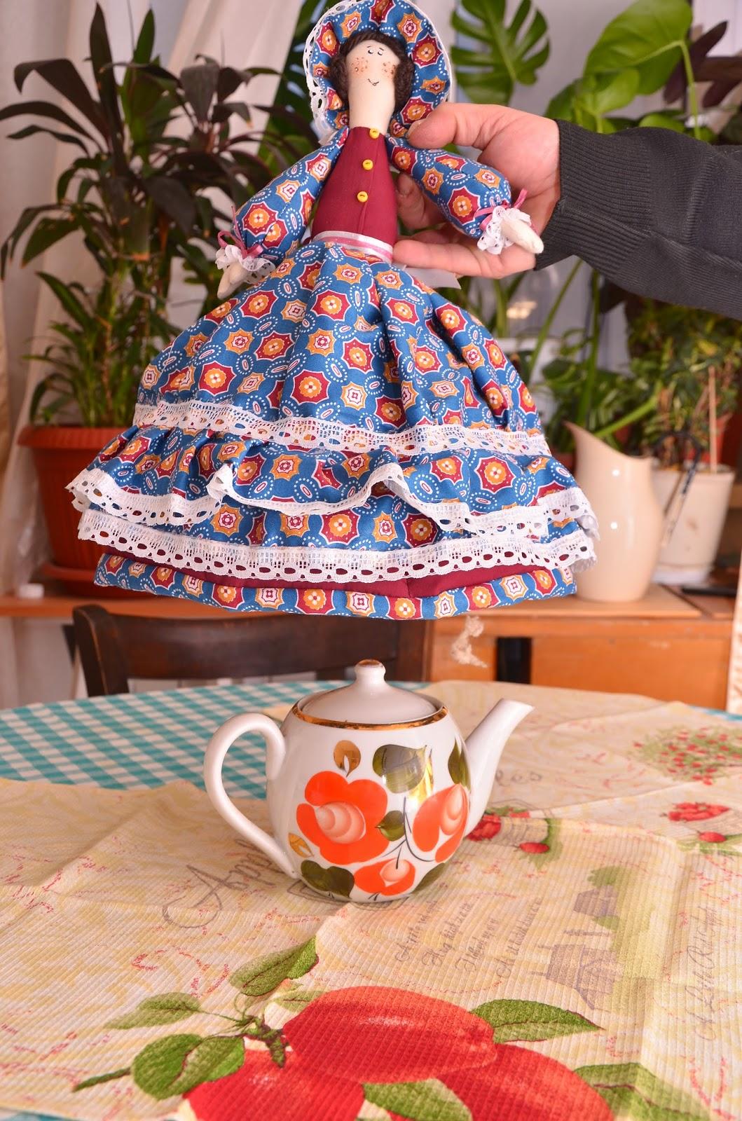 Грелка на чайник своими руками Полезные советы 50