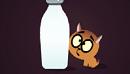 لعبة القط يبحث عن الحليب الرائعة