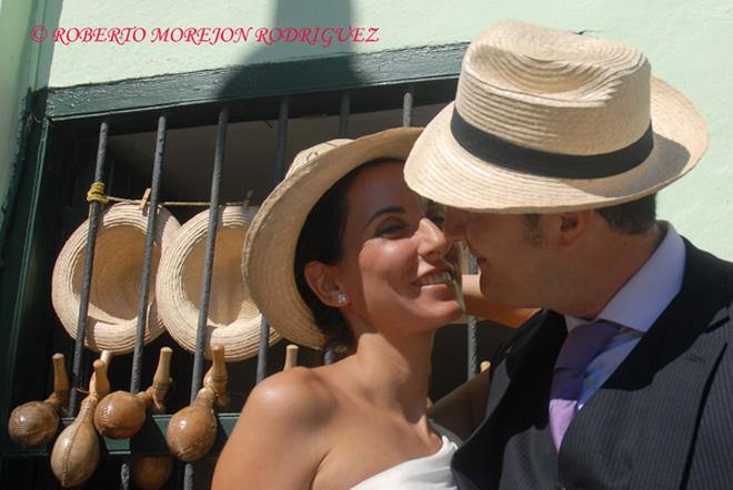 Pedro y Noelia, celebran su Luna de Miel en La Habana, Cuba