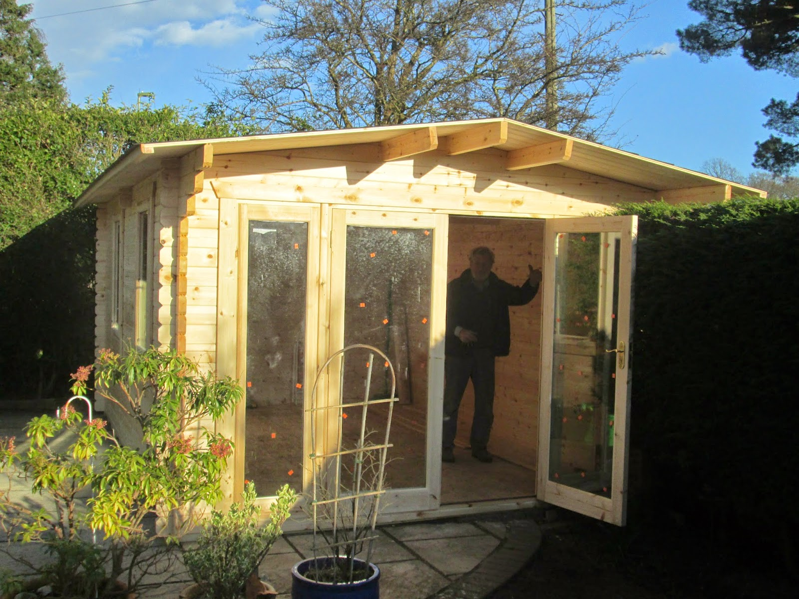 Southwick 39 S Garden Offices 15 39 X 11 39 Insulated Garden