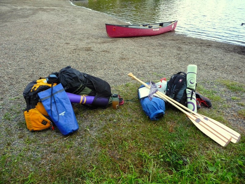 all in a day's paddle - leaving the BWCAW