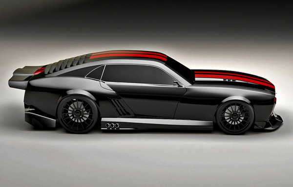Pontiac Firebird TT Black Edition Concept side