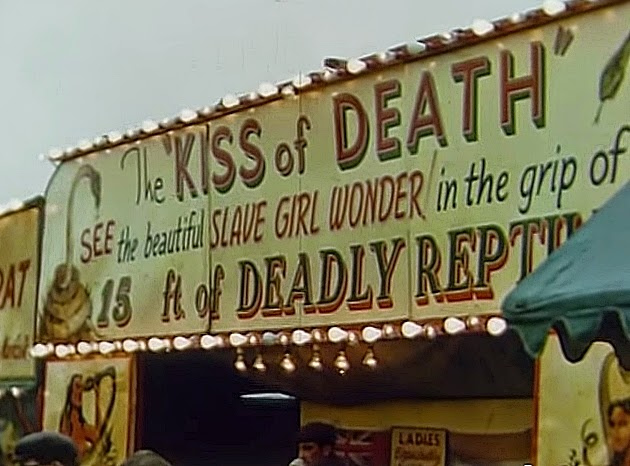 1955 Carnival show The Kiss of Death