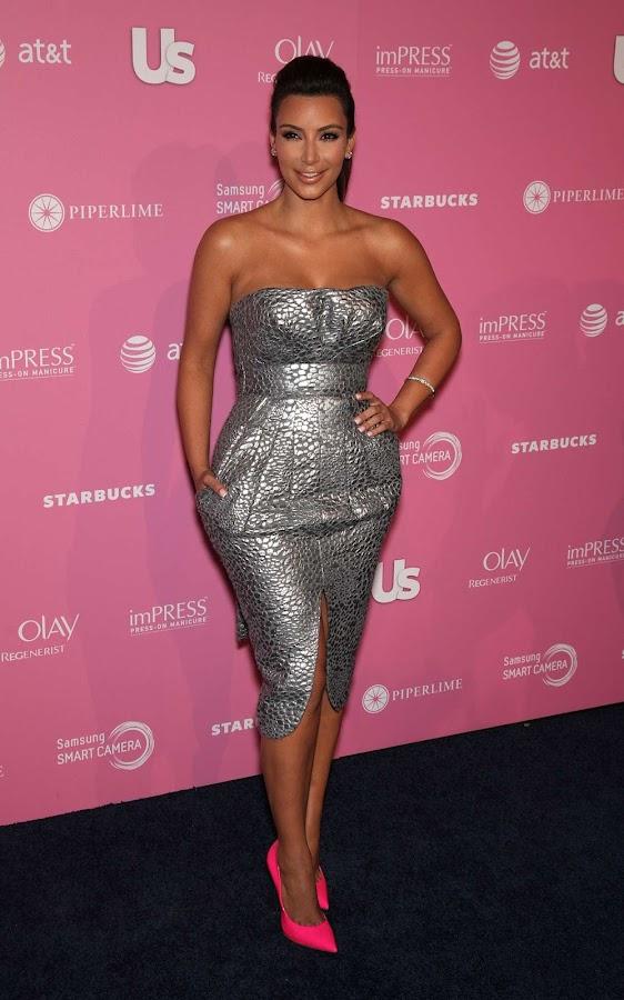 Kim Kardashian sparkles at Us Weekly Hot Hollywood Style Party 2012 image