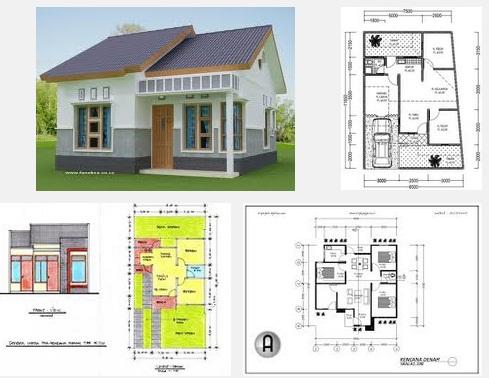 Desain Rumah Tipe 36 Kamar 3 2016