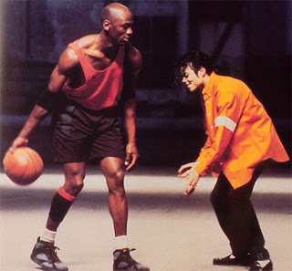 Michael Jackson Michael Jordan Jam