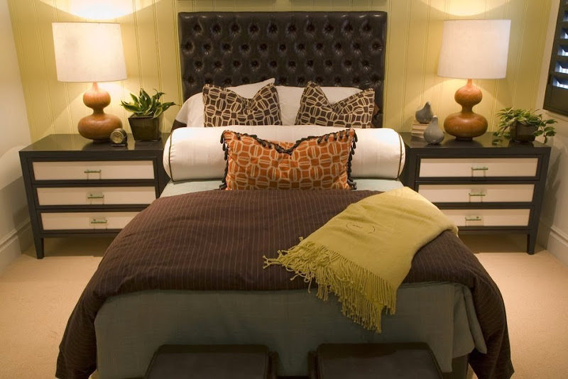 Cream and Brown Bedroom Decorating Ideas