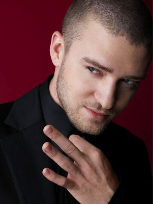 JUSTIN TIMBERLAKE CASUAL SHORT HAIRCUT