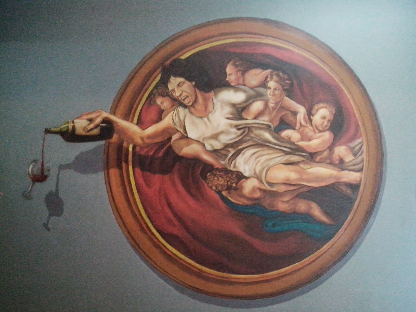 3D Art Wall Painting