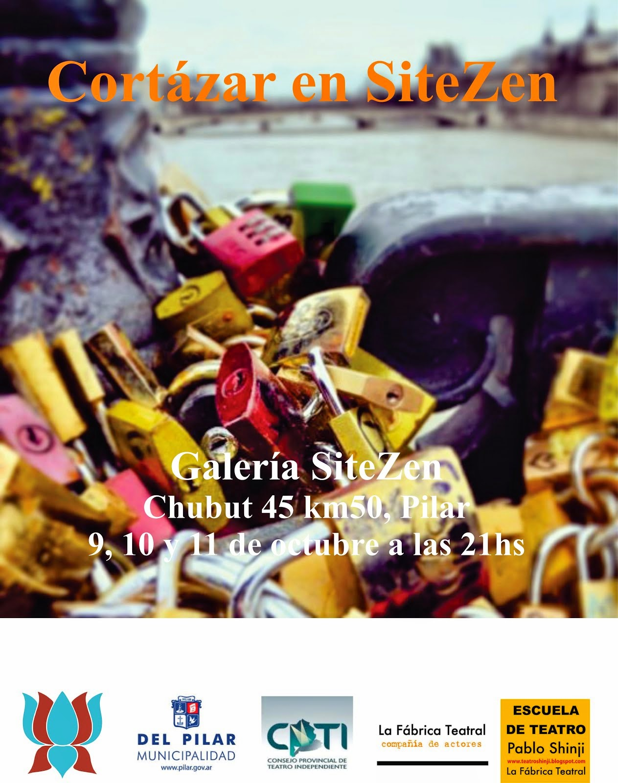 """Cortázar en SiteZen"" de Pilar"