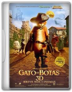 Gato de Botas DVDSCR AVI Dual Áudio + RMVB Dublado