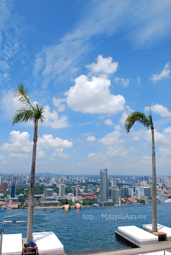 Sands skypark singapore in pictures malaysia asia travel blog for Marina bay sands swimming pool entrance fee
