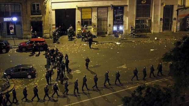 Detik-detik Serangan Teror di Paris