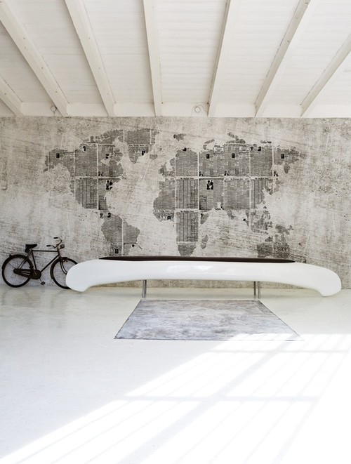 Inspire bohemia designing with maps for Room design map