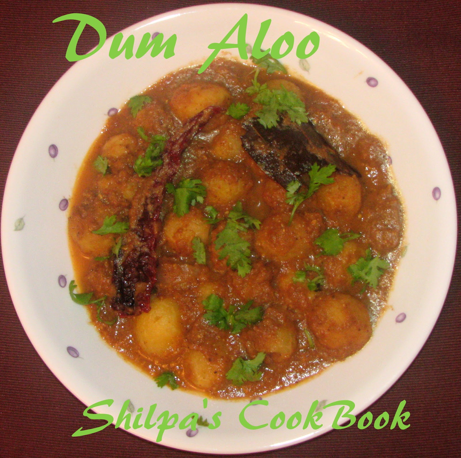Today I made Kashmiri dum aloo, which is nothing but baby potatoes in ...