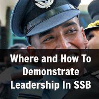 Leadership quality in ssb interview