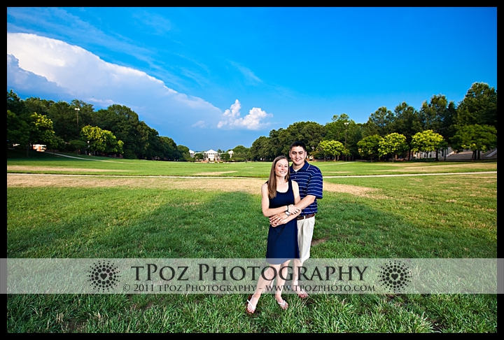 COllege Park Engagement Photos
