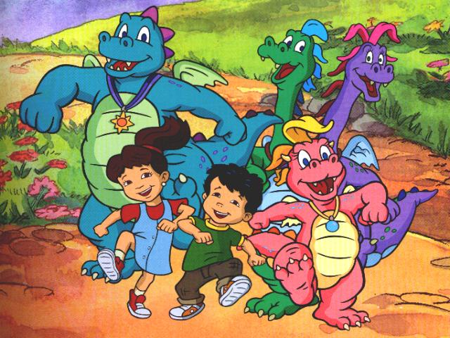 Dragon Tales Cartoon Character