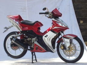 modifikasi motor supra fit