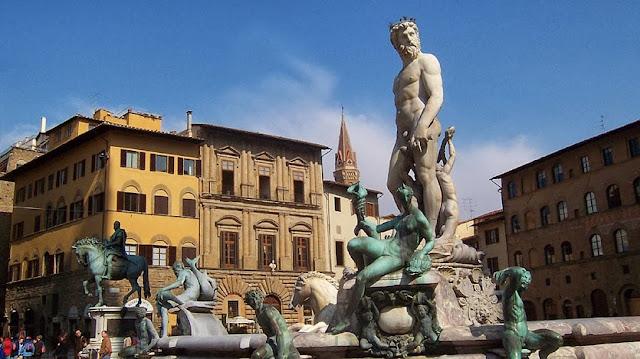 Piazza della Signoria en Florencia