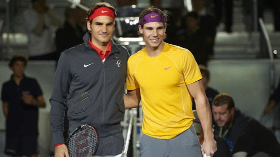 nadal vs federer, a fight for the record