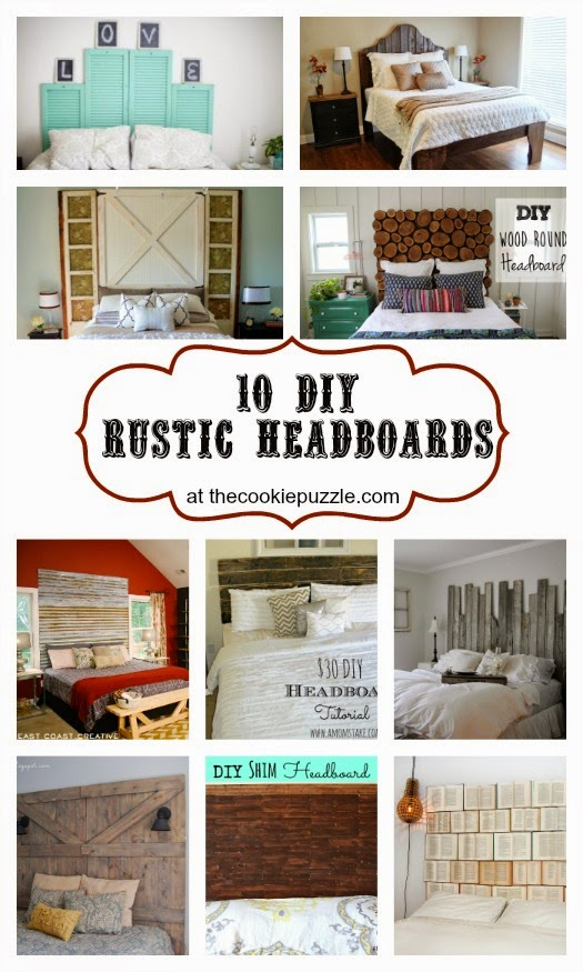 10 DIY Rustic Headboards