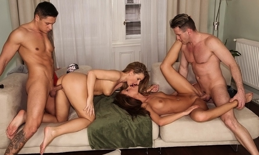 просмотр фото групповой секс