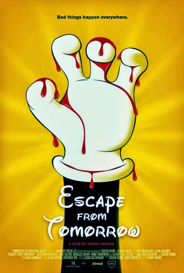 La película Escape from Tomorrow