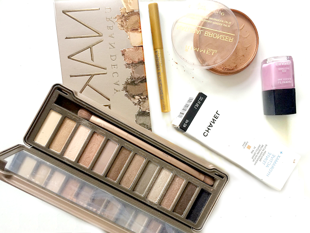 beauty, makeup, monthly favourites, Urban Decay, Naked 2 Palette review, Chanel review, Le Vernis Sweet Lilac 615, h&m, liquid eyeliner gold, Rimmel London, Natural Bronzer, Chanel Hydramax + Active Teinte, youwishyou, 2015