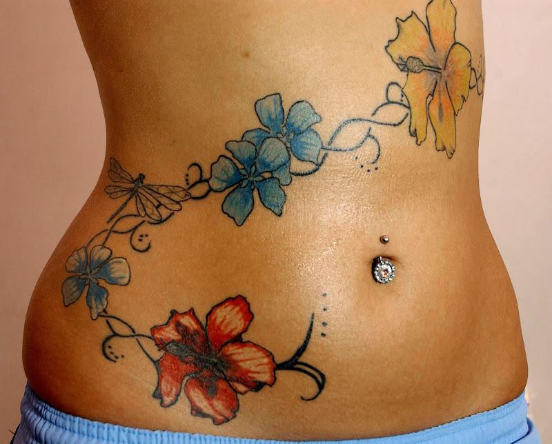 Flower Tattoos For Girls  title=