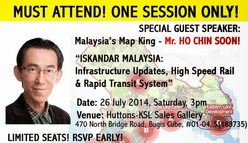 Iskandar Malaysia: Infrastructure Updates, High Speed Rail & Rapid Transit System