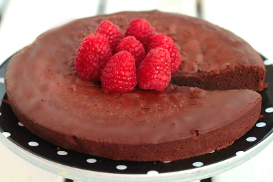 Tarta De Chocolate Negro Sin Azúcar, Sin Gluten Y Baja En Hidratos