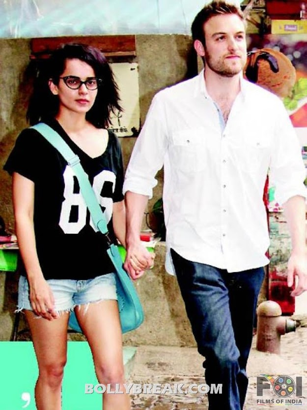Kangna Ranaut with Boyfriend Nicholas Lafferty