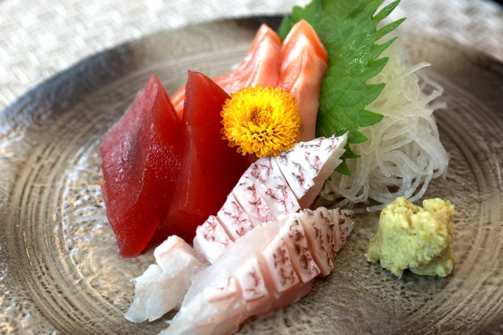 龍鮨处職人すし日本料理-綜合生魚片(刺身)