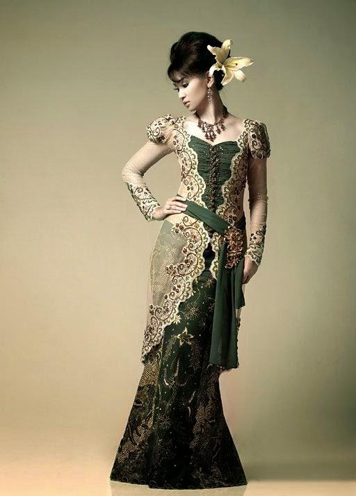 Kumpulan foto model baju kebaya dress modern trend baju kebaya - Foto moderne dressing ...