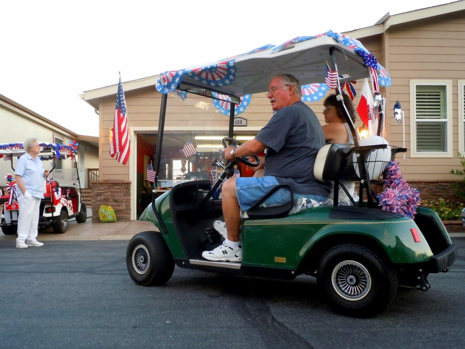 Surviving Oakridge: July 2011 on decorate a 4 wheeler, halloween decorating ideas golf cart, decorate a wheelchair, decorate a shopping cart,