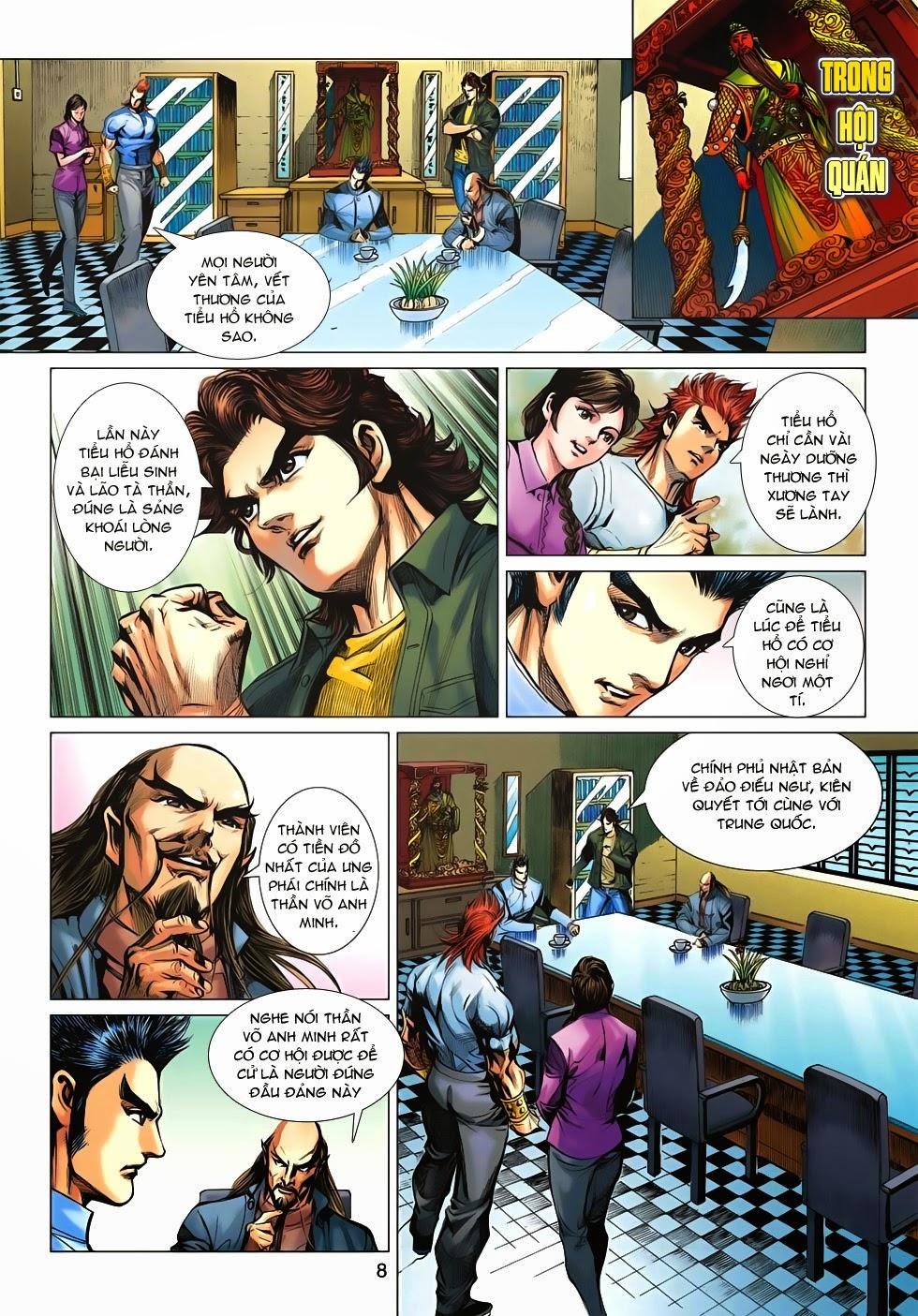 Tân Tác Long Hổ Môn chap 659 - Trang 8