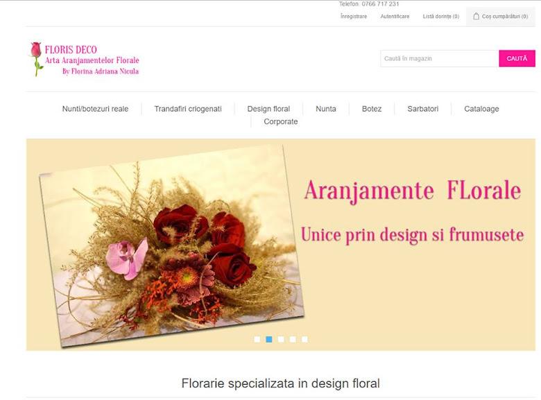 Floraria FLORIS  DECO -SLATINA