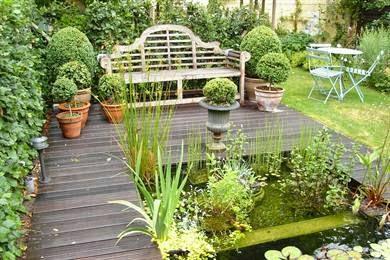 Ma maison au naturel un coin romantique dans votre jardin for Jardin romantique anglais