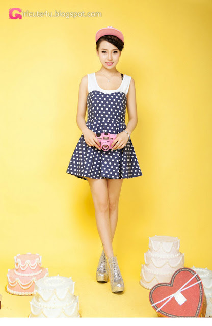 1 Lan Qi - pretty sweet fashion dress - very cute asian girl - girlcute4u.blogspot.com