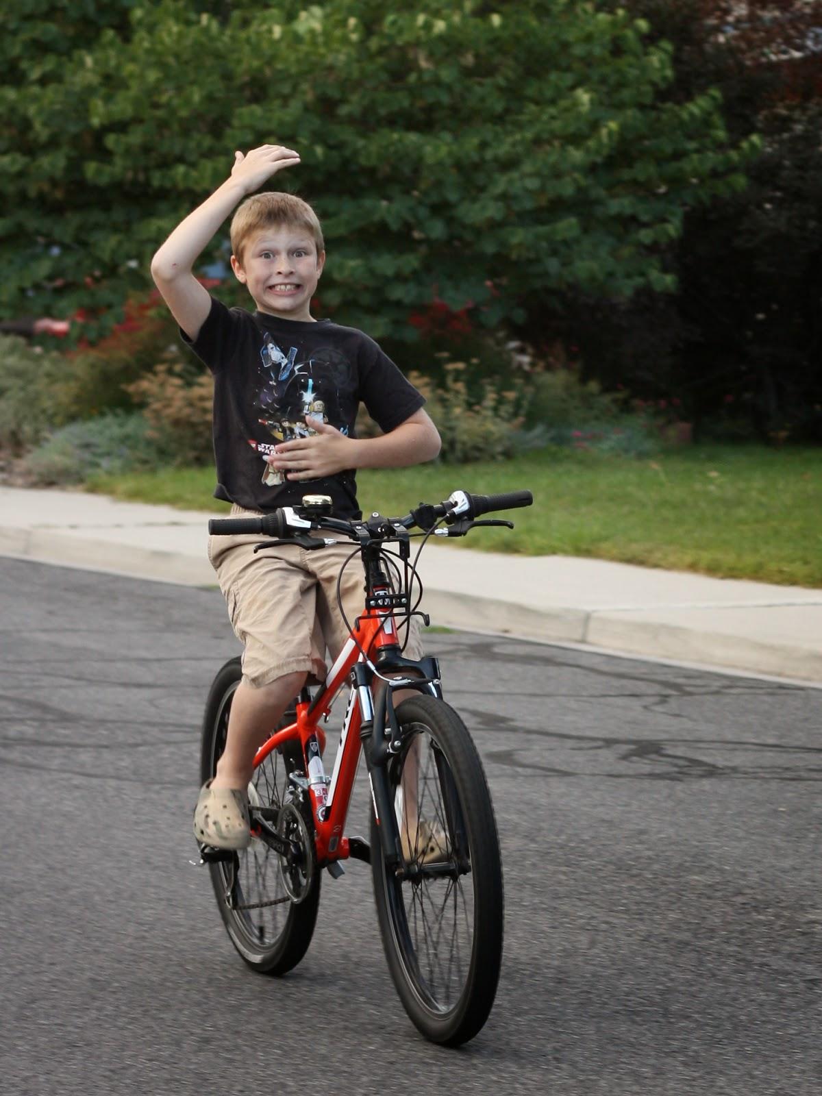 Morningstar Happenings I Can Ride My Bike With No Handlebars