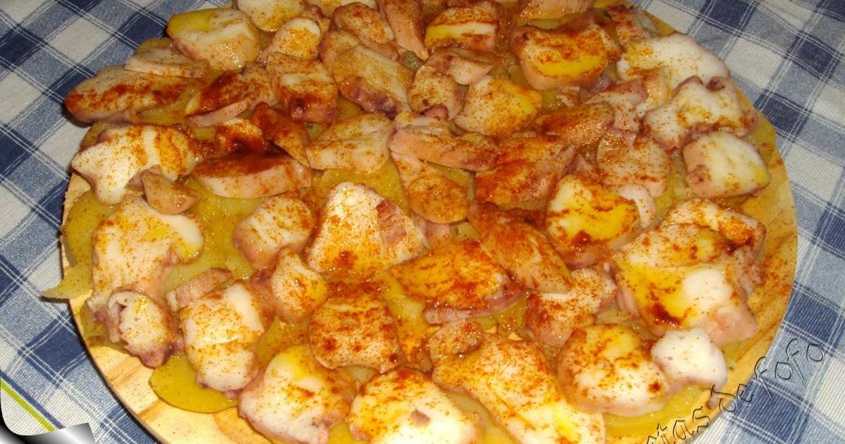 Las recetas de f fo pulpo a la gallega for Pulpo en olla express